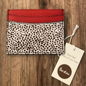 Amazing NWT Boden credit card holder!